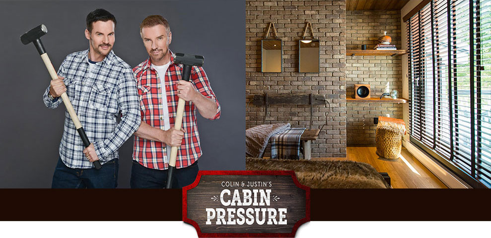 Colin & Justin's Cabin Pressure feature SelectBlinds products!
