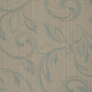 Sea Green Leaf Scroll