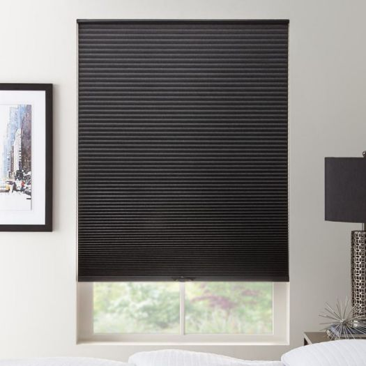 """1/2"""" Double Cell Value Blackout Honeycomb Shades 5559 Thumbnail"""
