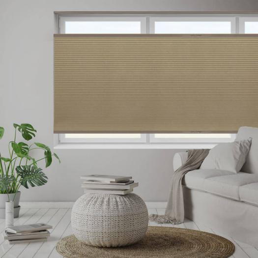 """1/2"""" Double Cell Value Blackout Honeycomb Shades 5561 Thumbnail"""