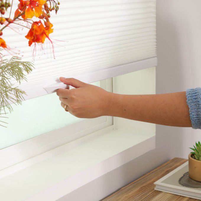 """1/2"""" Double Cell Value Light Filter Honeycomb Shades 7296"""