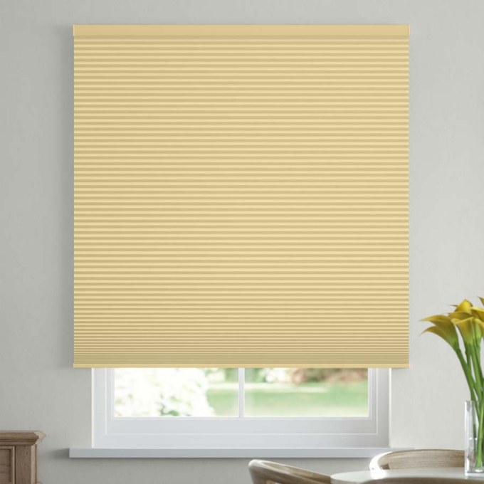 "1/2"" Double Cell Value Plus Blackout Honeycomb Shades 5361"
