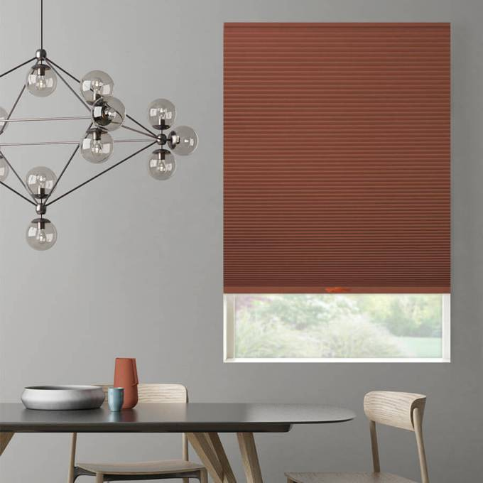 "1/2"" Double Cell Value Plus Blackout Honeycomb Shades 5364"