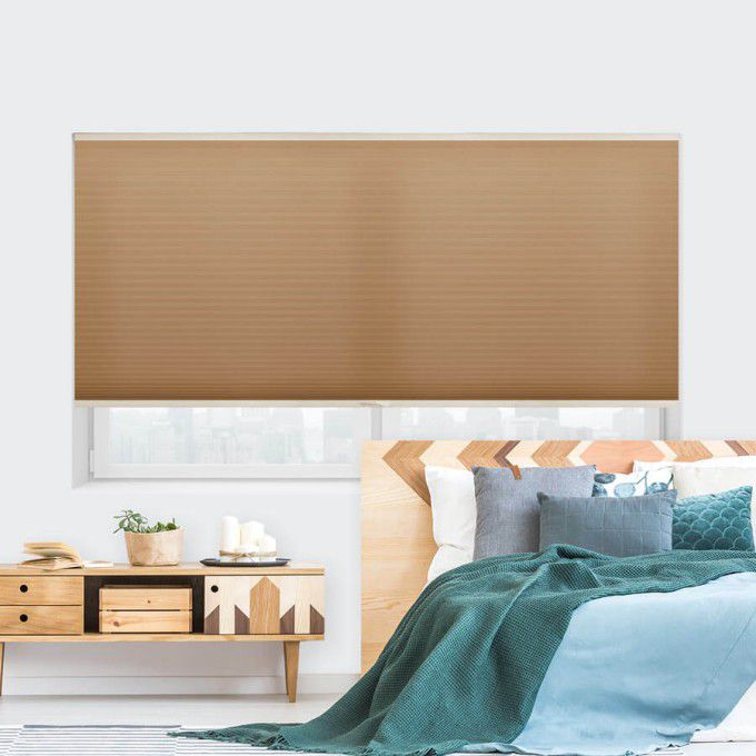 """1/2"""" Double Cell Value Plus Light Filter Honeycomb Shades 5405"""