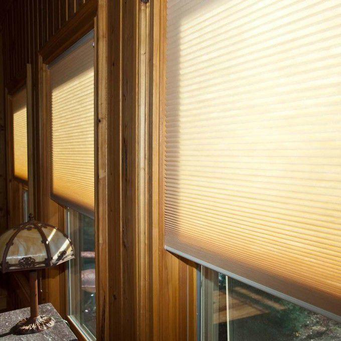 Cordless Light Filtering Honeycomb Shades 6173