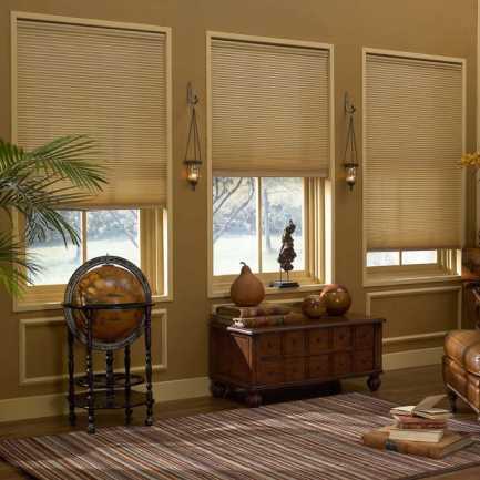 Cordless Light Filtering Honeycomb Shades 6174 Thumbnail