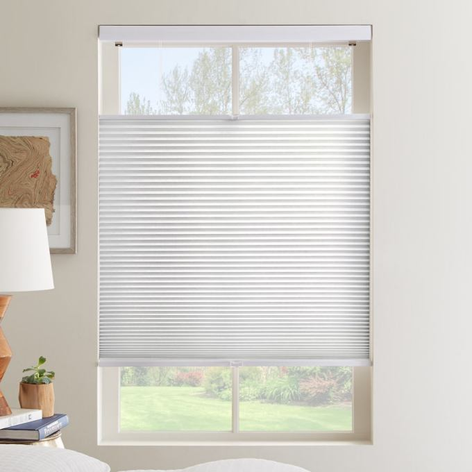 Cordless Top Down Bottom Up Light Filtering Honeycomb Shades 6135