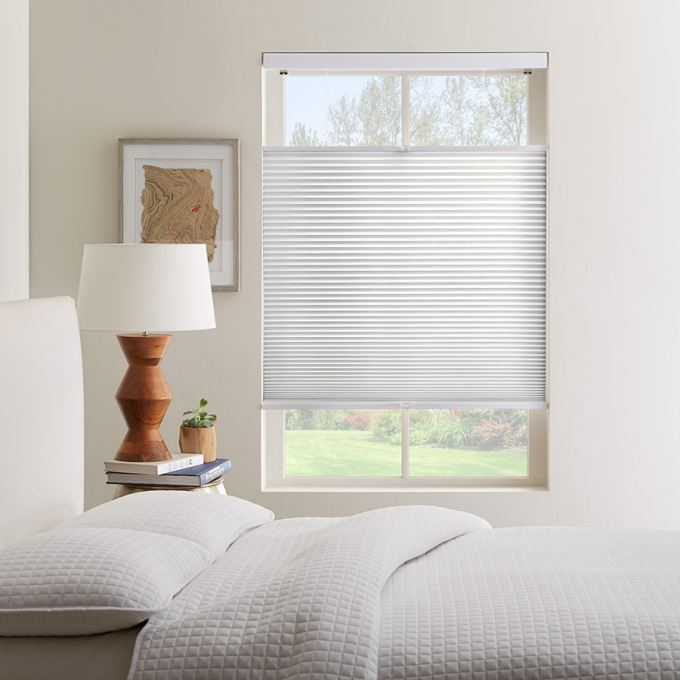 Cordless Top Down Bottom Up Light Filtering Honeycomb Shades 6137