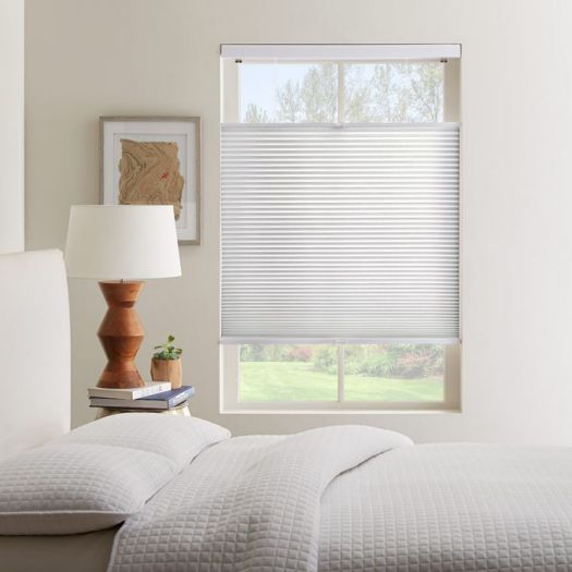 Cordless Top Down Bottom Up Light Filtering Honeycomb Shades 6137 Thumbnail