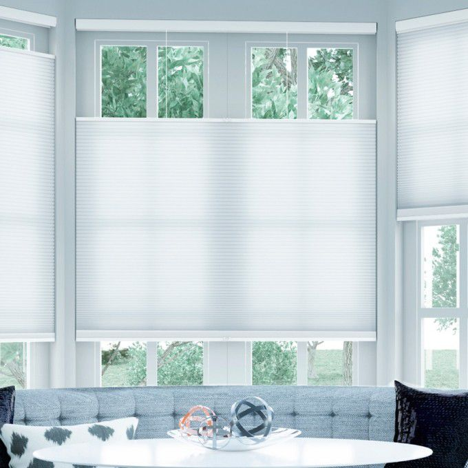 Cordless Top Down Bottom Up Light Filtering Honeycomb Shades 6140