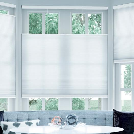 Cordless Top Down Bottom Up Light Filtering Honeycomb Shades 6140 Thumbnail