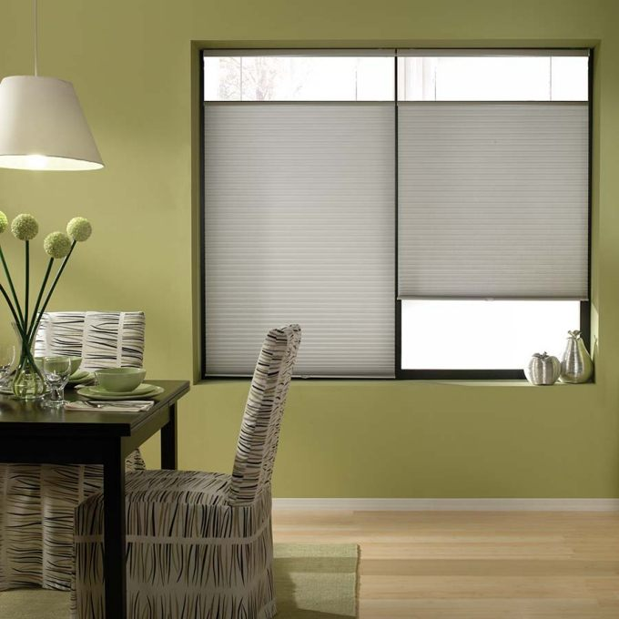 Cordless Top Down Bottom Up Light Filtering Honeycomb Shades 6143