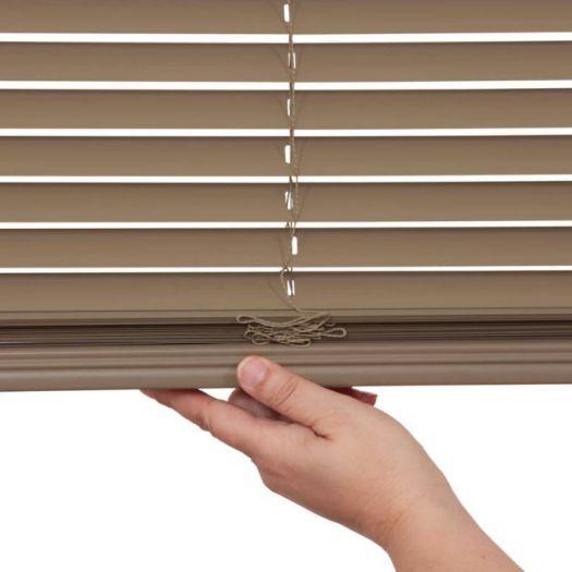 "1"" Designer Cordless Aluminum Blinds 4682 Thumbnail"