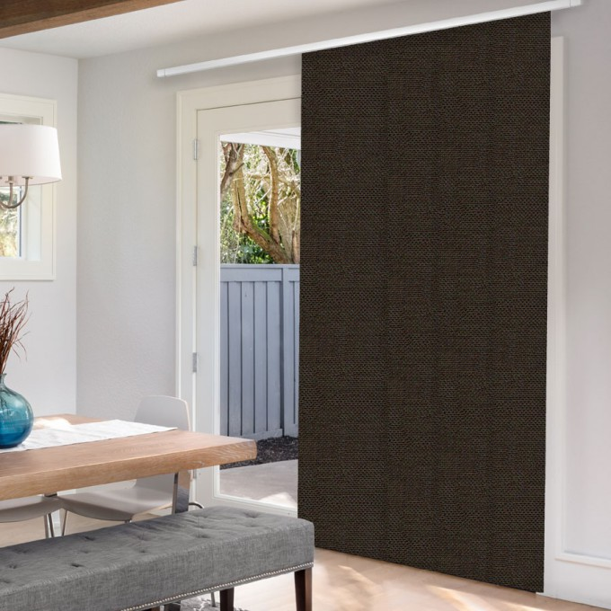 1% SheerWeave Premium Panel Track Blinds
