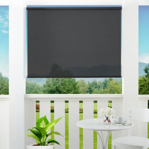 1% SheerWeave Value Outdoor Solar Roller Shades 5106 Thumbnail