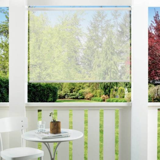 14% SheerWeave Value Outdoor Solar Roller Shades 5128 Thumbnail