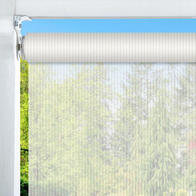 14% SheerWeave Value Outdoor Solar Roller Shades 5129