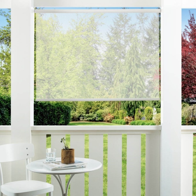 14% SheerWeave Value Outdoor Solar Roller Shades