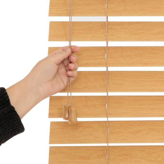"""2 1/2"""" Premium Faux Wood Blinds 8823"""