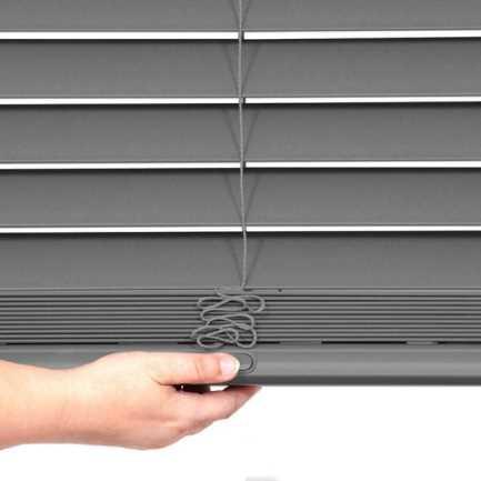 "2"" Designer Faux Wood Blinds 8057 Thumbnail"