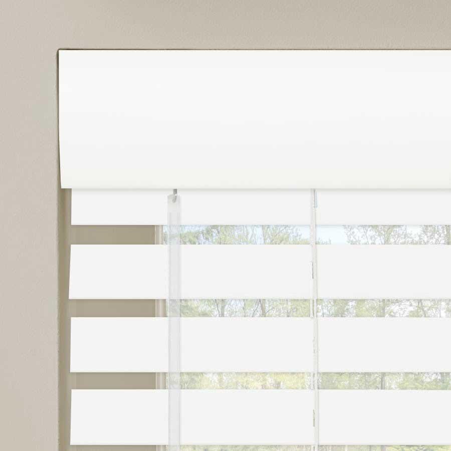 """2"""" Designer Faux Wood Blinds 7011"""