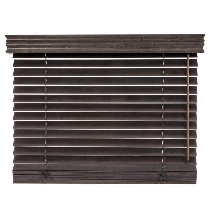 """2"""" Designer Wood Blinds 4737"""