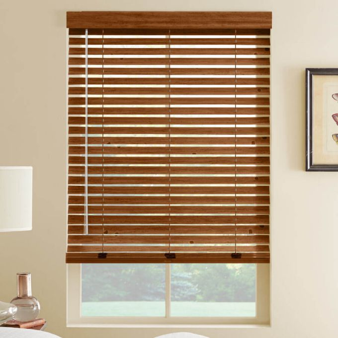 """2"""" Distressed Wood Blinds 7104"""