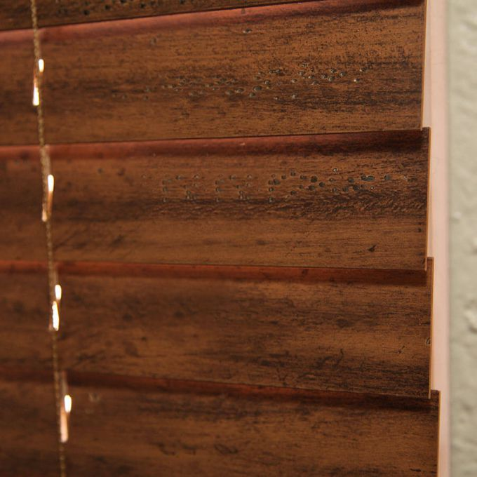 """2"""" Distressed Wood Blinds 7106"""
