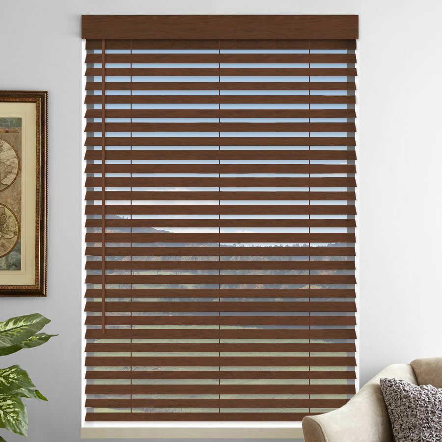 """2"""" Premium Faux Wood Blinds 4762"""