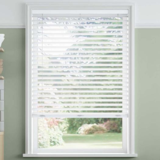 """2"""" SelectWave Cordless Faux Wood Blinds 4791 Thumbnail"""