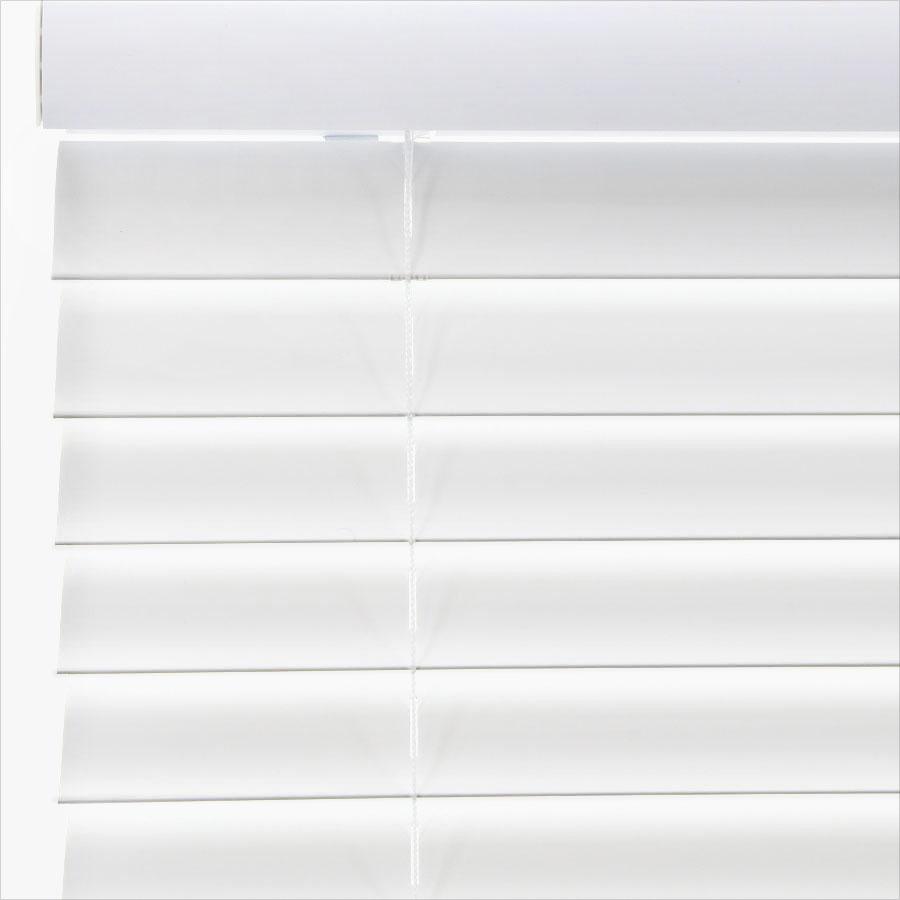 """2"""" SelectWave Cordless Faux Wood Blinds 4795"""