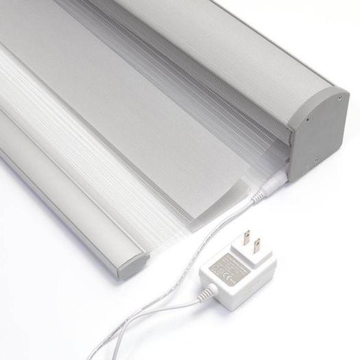 """2"""" Value Light Filtering Sheer Shades 7548 Thumbnail"""