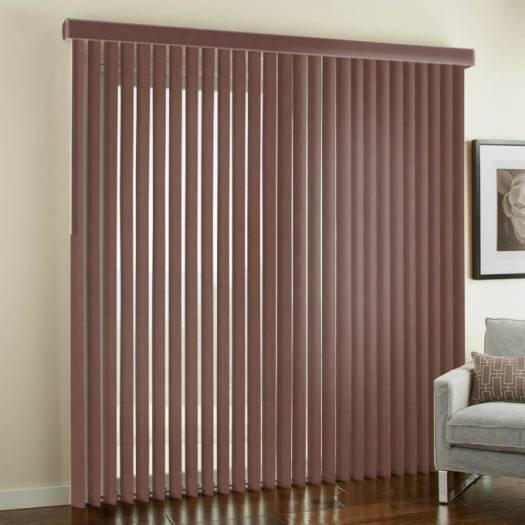"""3 1/2"""" Premium Faux Wood Vertical Blinds 4846 Thumbnail"""