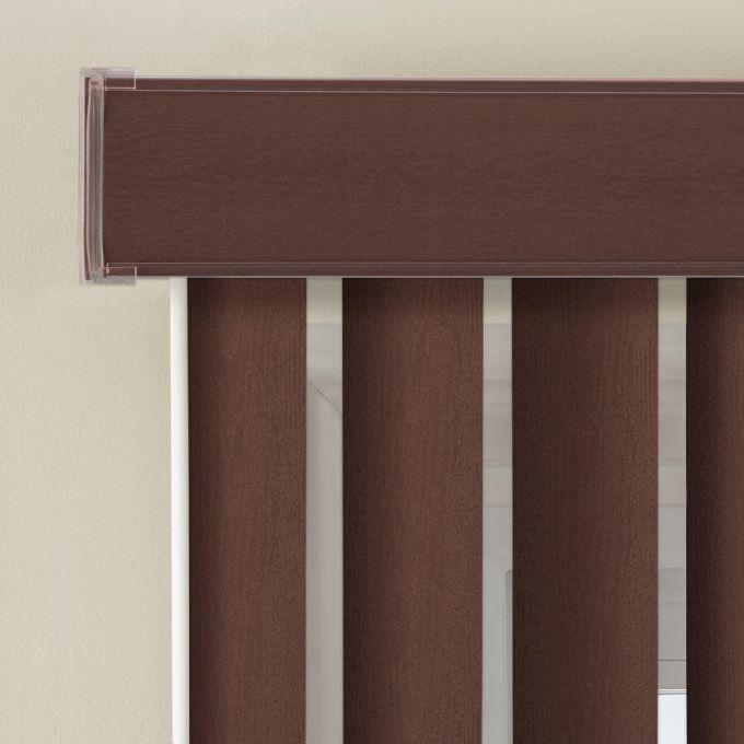 """3 1/2"""" Premium Faux Wood Vertical Blinds 4847"""