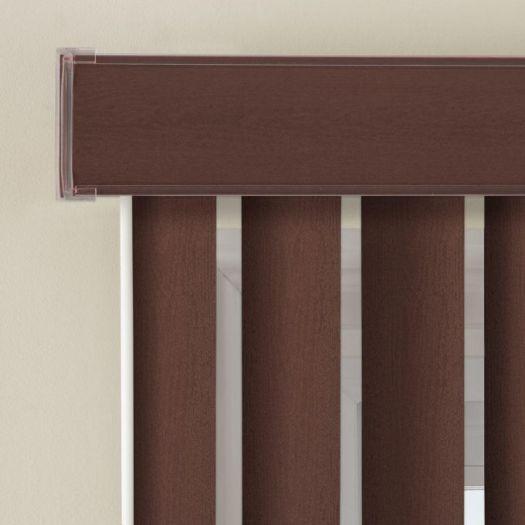 """3 1/2"""" Premium Faux Wood Vertical Blinds 4847 Thumbnail"""