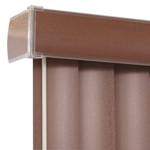 """3 1/2"""" Premium Faux Wood Vertical Blinds 4851 Thumbnail"""