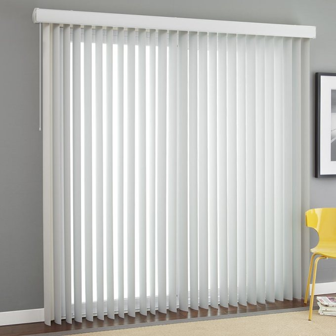 """3 1/2"""" Premium Smooth Vertical Blinds 4831"""