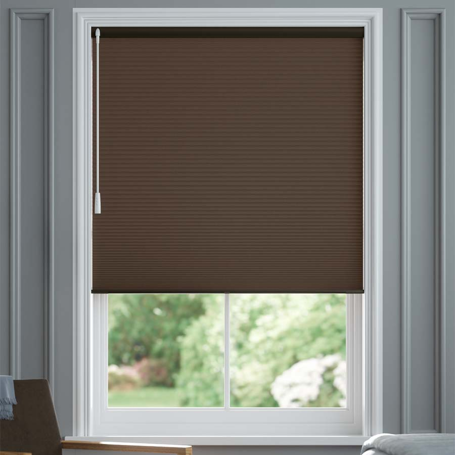 """3/4"""" Single Cell Value Plus Blackout Honeycomb Shades 5678"""
