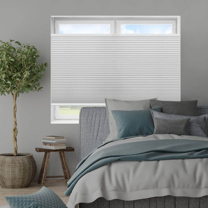 """3/4"""" Single Cell Value Plus Blackout Honeycomb Shades 5680"""