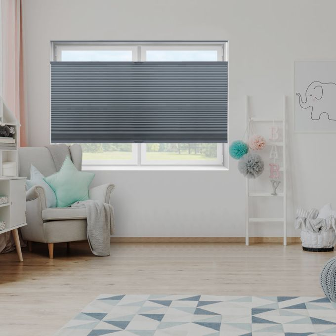 """3/4"""" Single Cell Value Plus Blackout Honeycomb Shades 5681"""