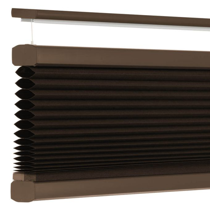 """3/4"""" Single Cell Value Plus Blackout Honeycomb Shades 5685"""