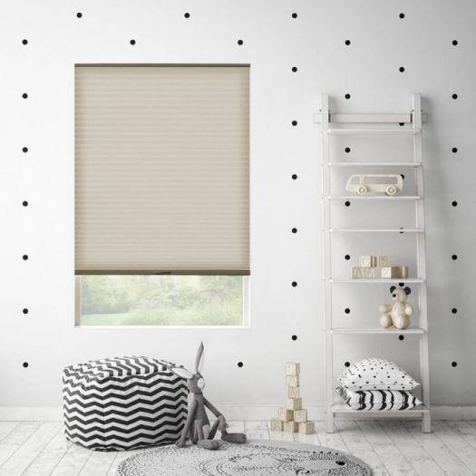 "3/4"" Single Cell Value Plus Light Filtering Honeycomb Shades 5698 Thumbnail"
