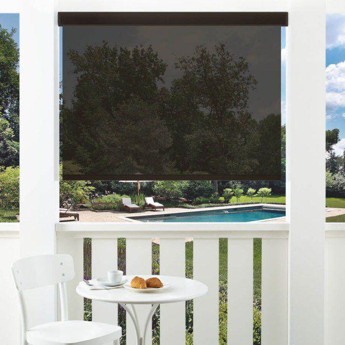 5% SheerWeave Value Outdoor Solar Roller Shades 5150