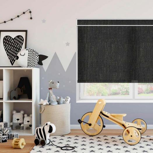 Designer Fabric Roller Shades 7185 Thumbnail