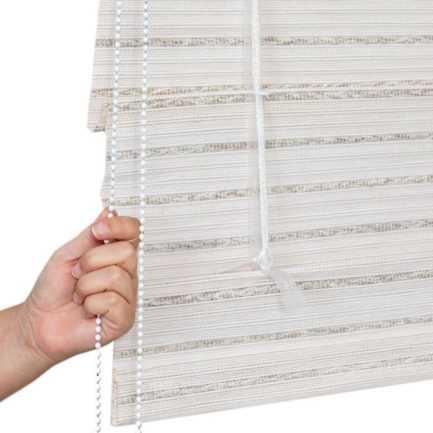 Designer Coastal Woven Wood Shades 8406 Thumbnail