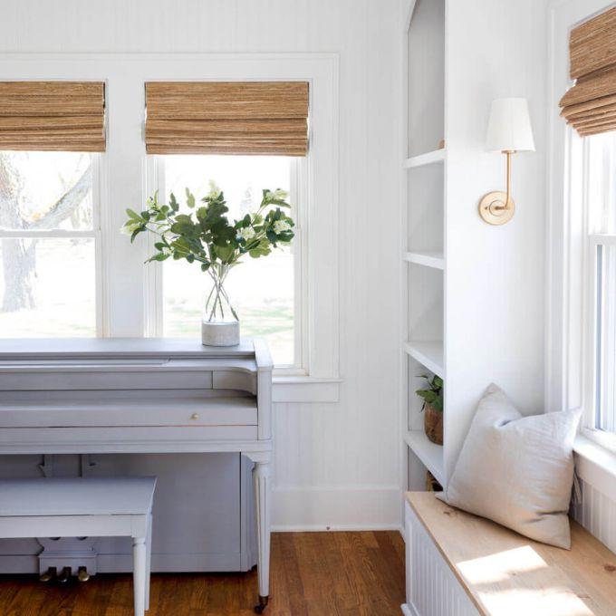 Designer Coastal Woven Wood Shades 8400