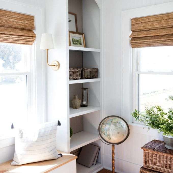 Designer Coastal Woven Wood Shades 8401