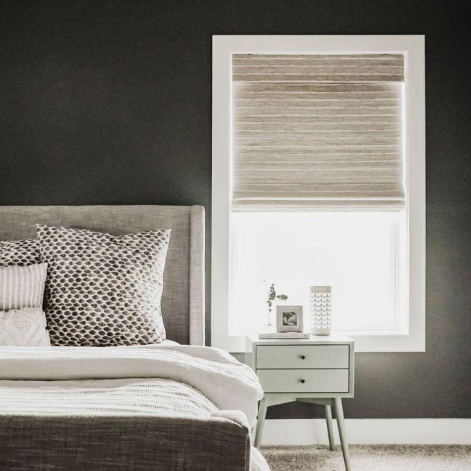 Designer Coastal Woven Wood Shades 8403