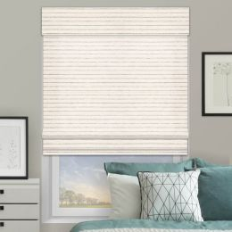 Designer Coastal Woven Wood Shades