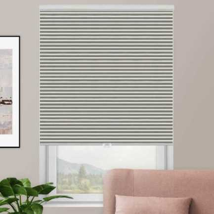 Designer Double Cell Blackout Honeycomb Shades 4367 Thumbnail